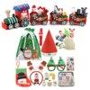 13Pcs/14Pcs Sensory Fidget Toys Set Christmas Stress Relief Kits Decompression Fidget Toy  for Kids Adults Christmas Gift