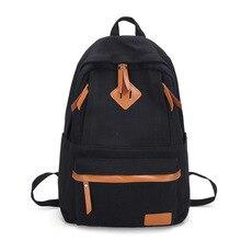 Waterproof Canvas Backpack Women Casual Female Laptop Large Capacity Girls School Bags Travel Rucksack Bagpack
