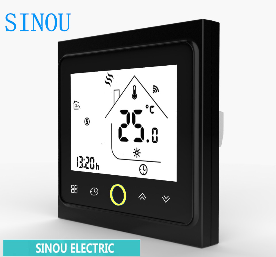 Temperature Controller For Water/Electric Floor Heating Water/Gas Boiler Tuya APP Remote Control/WiFi Smart Touch Thermostat
