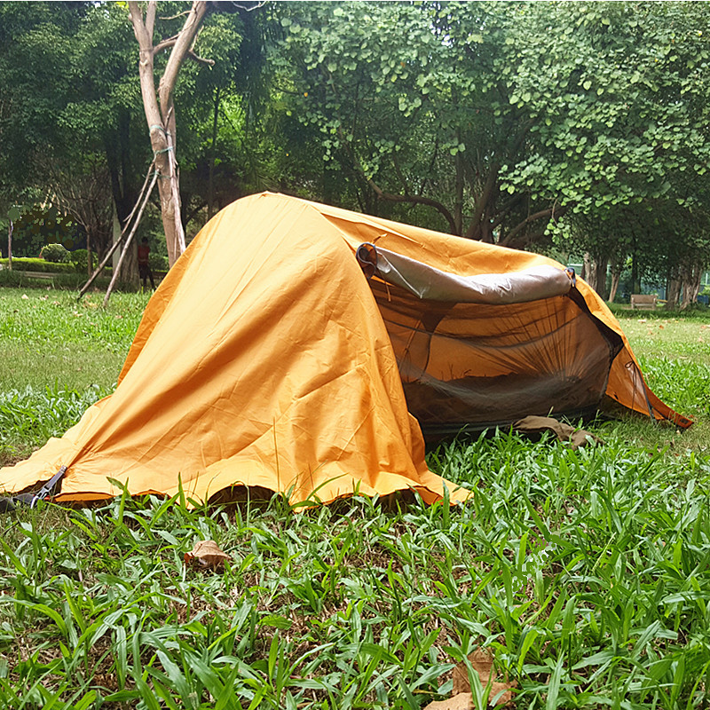 Multi-functional Insect Net Waterproof Windproof Ultralight Parachute Hammock Aerial Tent Portable Outdoor Camping 270x140cm