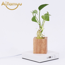 Wireless Charging Wood table lamp Modern living room Bedroom Bedside lamps home Kids Room decor lighting wood fixture