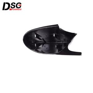 Image 4 - ABS Gloss Black Rear View Mirror Caps For BMW 3 Series E90 E91 05 07 & E90 E92 06 09 Replacement Cover E81 E82 E87 E88 pre LCI