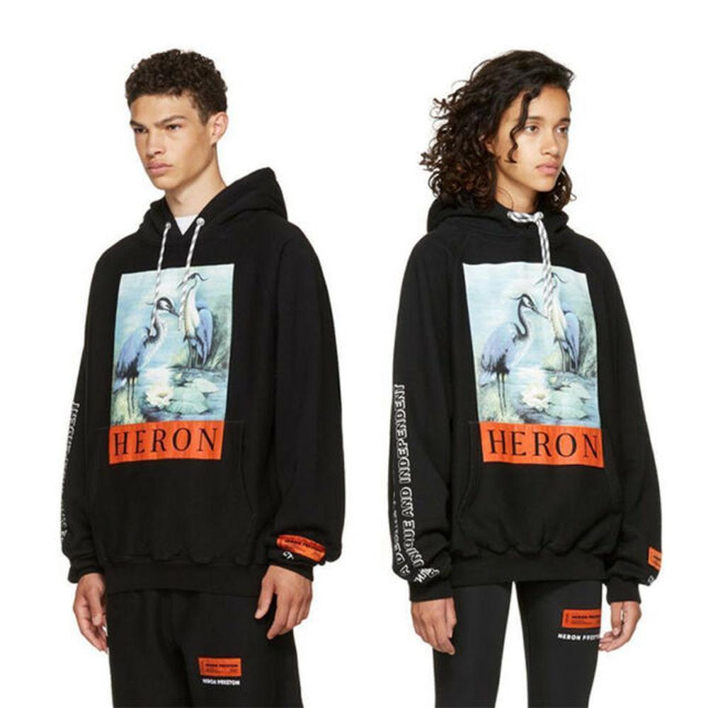 Heron Preston Crane Pullover Sweatshirts Hoodie 1