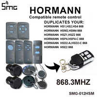 Clone Hormann HSM2 868 HSM4 868mhz remote control garage door opener for HORMANN motor code grabber  remotes for gates