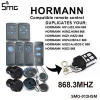 Hormann HSM2 868 HSM4 Clone 868mhz controle remoto da porta da garagem abridor de motor código grabber HORMANN controles remotos para portões|Controle remoto p/ portão| |  -