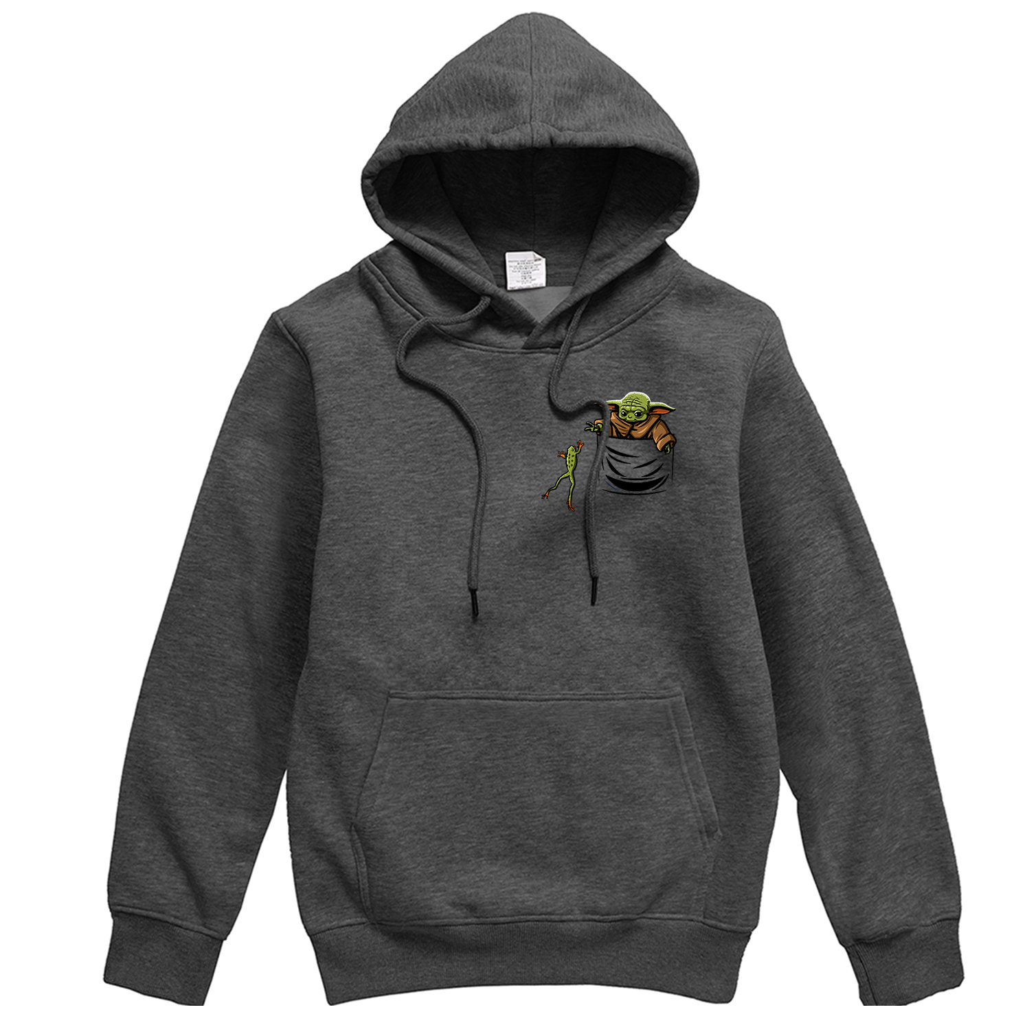 Creative Print Pullover Men Star Wars Brand Sweatshirt Cute Baby Yoda Graphics Men's Sports Hoodie Casual Funny Men Clothes Warm