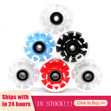Wheel-Roller Roller-Skateboard Skates Sport-Accessories Flash Double-Row New