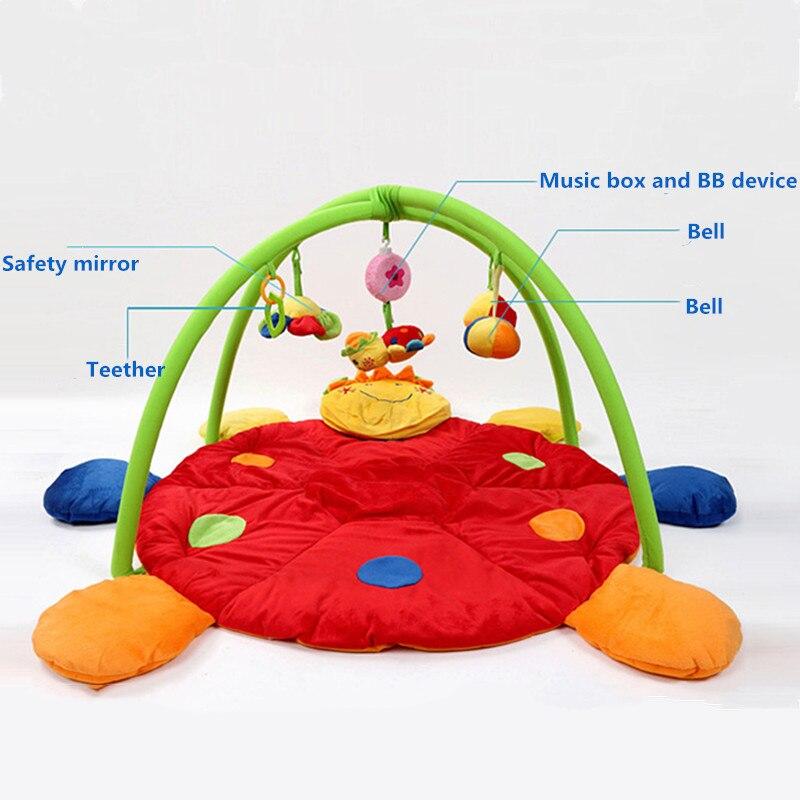 Tapis de jeu pour bébé jouets cadeau jouer tapis de gymnastique doux tapis de sol pour bébé 3D activité tapis de jeu tapis rampant enfants tapis jouet éducatif
