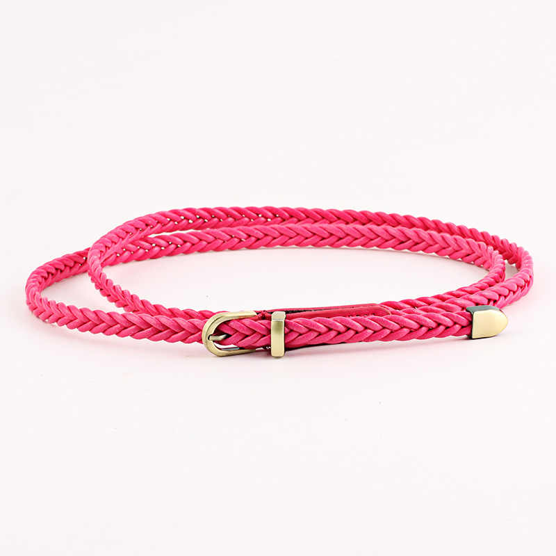 100*0.8cm New 14color Candy women belts cintos femininos 2019 Slimming leather belt casual jeans female belt cinturon mujer N283
