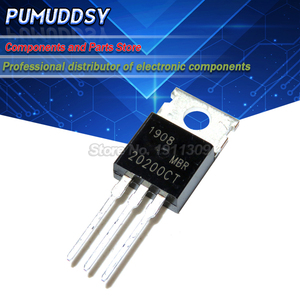 10PCS MBR20200CT MBR20200 Schottky diode TO 220