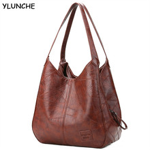 YLUNCHE Vintage Women Hand Bag Designers Luxury Handbags Shoulder Bags Female Top-handle Fashion Brand