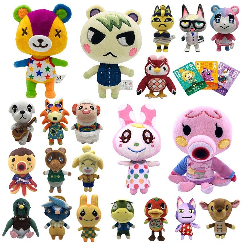 Лидер продаж, плюшевая игрушка анимационного пересечения, 20 см, 25 см, маршал Amiib, редкие животные, NFC, плюшевая игрушка для nintendo switch NS, игры, плю...