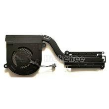 Новый радиатор охлаждения процессора для DELL latitude E7480 E7490, радиатор 02T9GV 2T9GV at1s1002зал AT1S1002ZCL