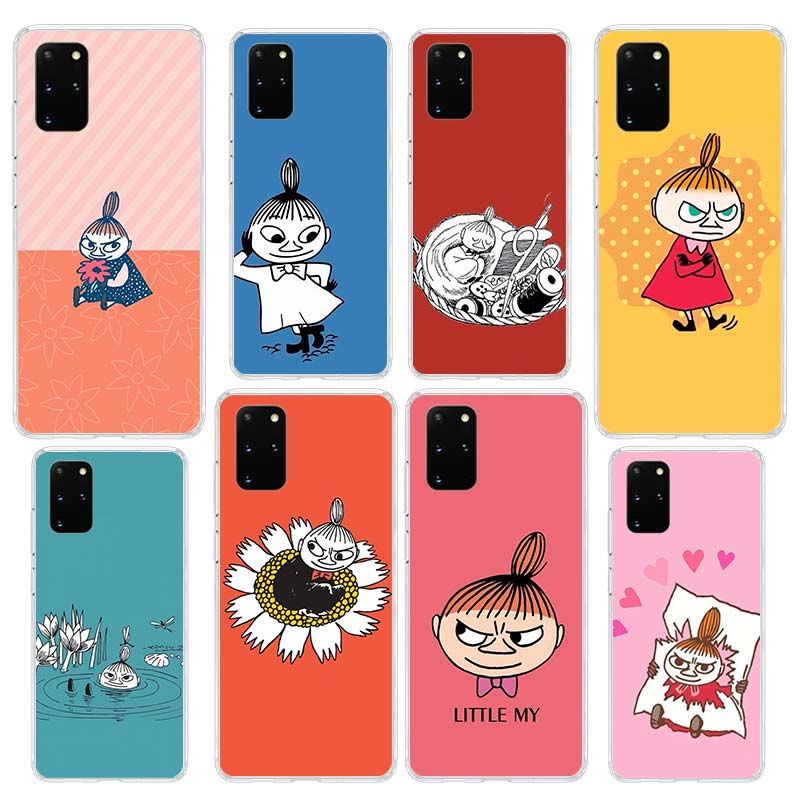 <font><b>Funny</b></font> Moomin <font><b>Case</b></font> for <font><b>Samsung</b></font> Galaxy S20 Ultra S10 5G S10e S9 S8 Plus <font><b>Note</b></font> 10 Lite <font><b>9</b></font> Clear Silicone Phone Cover image