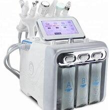H2O2 гидро дермабразия Аква кожура алмазная микродермабразия машина вода кислородная струя пилинг RF омоложение кожи Гидра лица