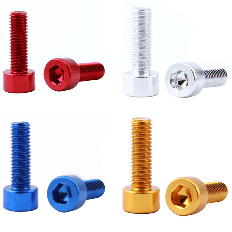 ALI shop ...  ... 33056919266 ... 5 ... 2PCS Bicycle Water Bottle Holder Screws Bottle Cage Screw Bicycle Bottle Bolt Bicycle Aluminum Alloy Screw Bike Repair Accessory ...