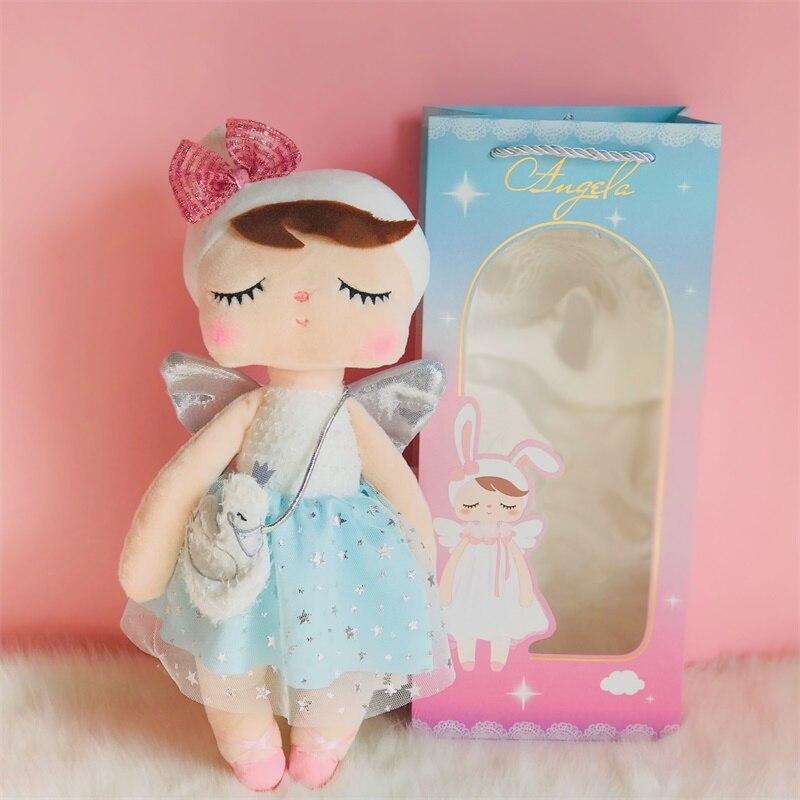 Metoo Plush Toys Angel Angela  Dolls 2020 Dream Edition Girl Birthday Gift Kawaii Bunny Rabbit
