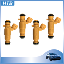4x coche inyector de combustible boquilla 35310-2B020 353102B020 para Hyundai i20 i30 Kia Rio Venga Cerato 1,4 1,6 G4FG 35310 2B020 9260930074