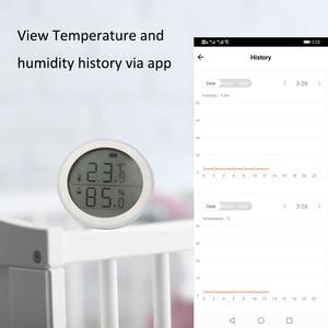 Image 4 - Датчик температуры и влажности Tuya ZigBee для умного дома со светодиодный ным экраном, хаб для умного дома и Tuya Zigbee