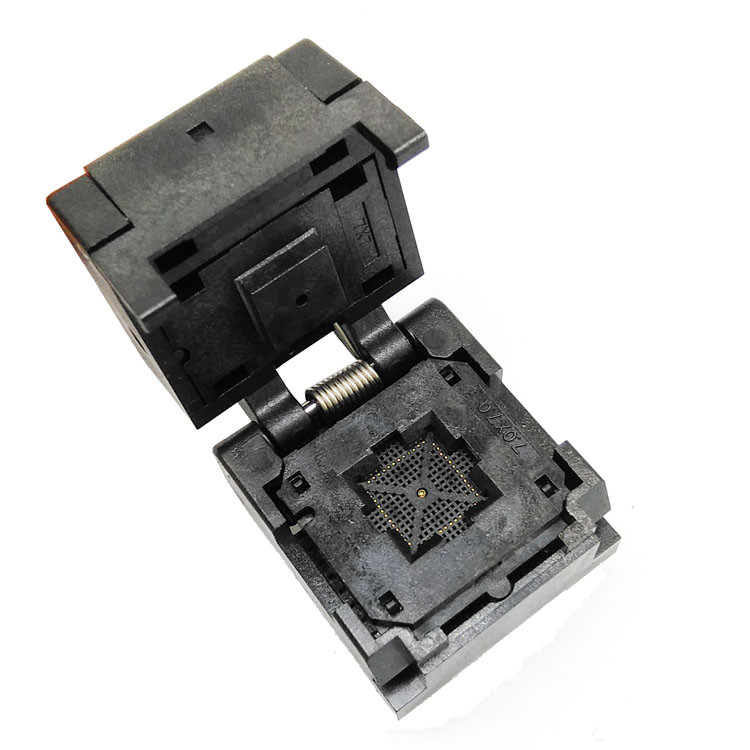 QFN48 graver dans le pas de la prise 0.5mm QFN48 MLF48 IC prise de Test à clapet taille de la puce 7*7 prise de programmation de l'adaptateur Flash