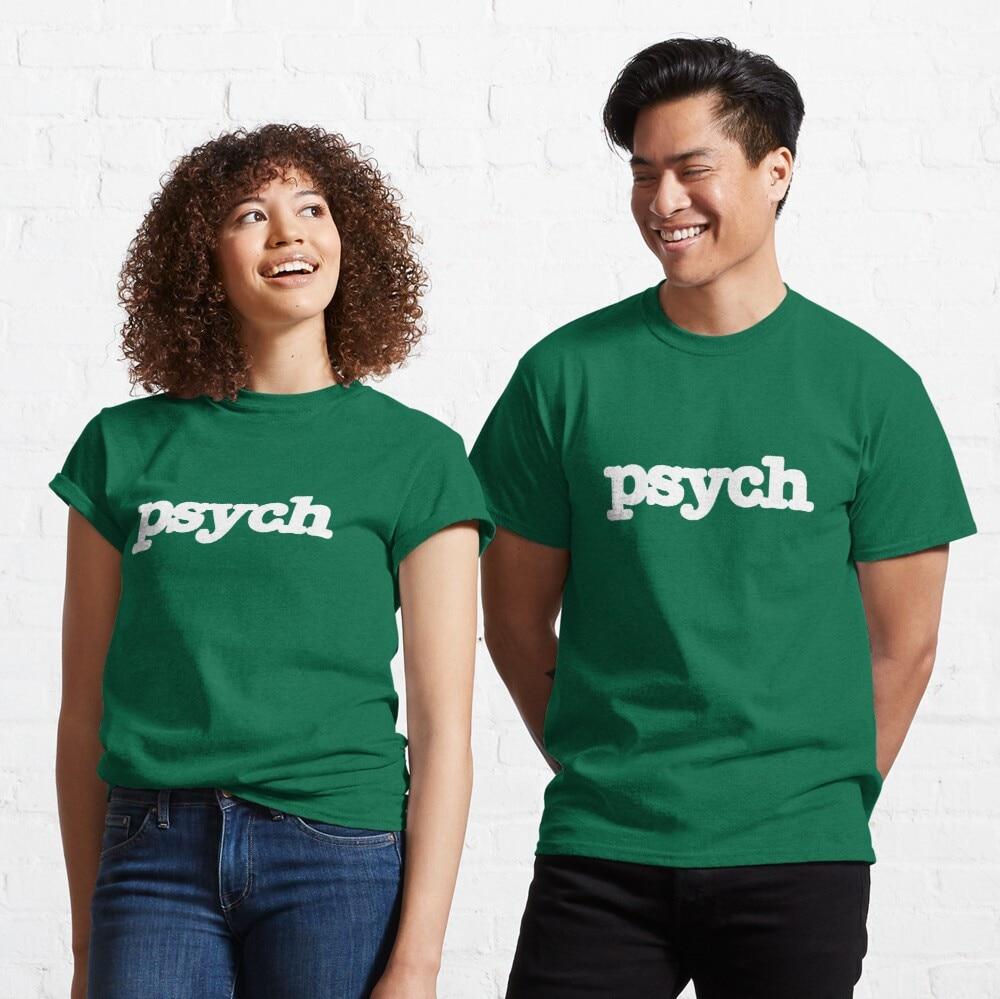 Camiseta clássico do logotipo da psicologia
