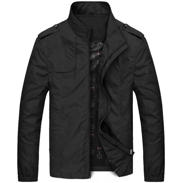 Men's Exclusive Jacket, Grey and Black, Thin and Thick 1