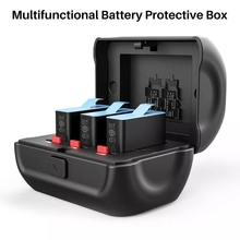 Ulanzi GP 8 para gopro 9 8 gopro9 gopro8 caixa de armazenamento de bateria caixa protetora para bateria gopro