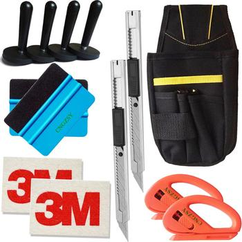 13 In 1 Window Tinting Film Tools Bag Cutter Vinyl Wrap Magnetic Squeegee Art Knives Wool Scraping Auto Care Accessories K22