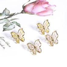 2020 модные серьги в стиле бохо полые бабочки для женщин милые