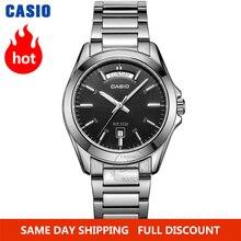 Casio 腕時計メンズトップブランドの高級セットクォーツwatcheミリタリー50メートル防水メンズ腕時計ファッションスポーツ腕時計シンプルなルミナスメンズ腕時計 relogio masculino reloj hombre erkek kol saati montre homme zegarek meski MTP 1370