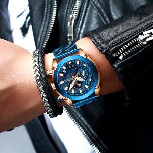 Image 2 - Мужские часы CRRJU, роскошные брендовые армейские военные часы, высокое качество, 316L, нержавеющая сталь, хронограф, часы Relogio Masculino 2020