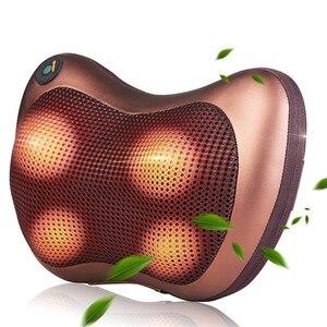 Image 1 - Vip cabeça pescoço massageador carro casa cervical shiatsu massagem pescoço volta cintura corpo elétrico multifuncional massagem travesseiro almofada