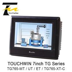 XINJE TouchWin 7 дюймов TG765-MT TG765-UT TG765-ET TG765-XT-C HMI сенсорный Экран 800x480