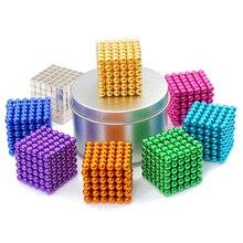 Toy Magnet Building-Toys Crafts Magnetic-Balls-Blocks Construction 5mm-Cube DIY Metal Magic