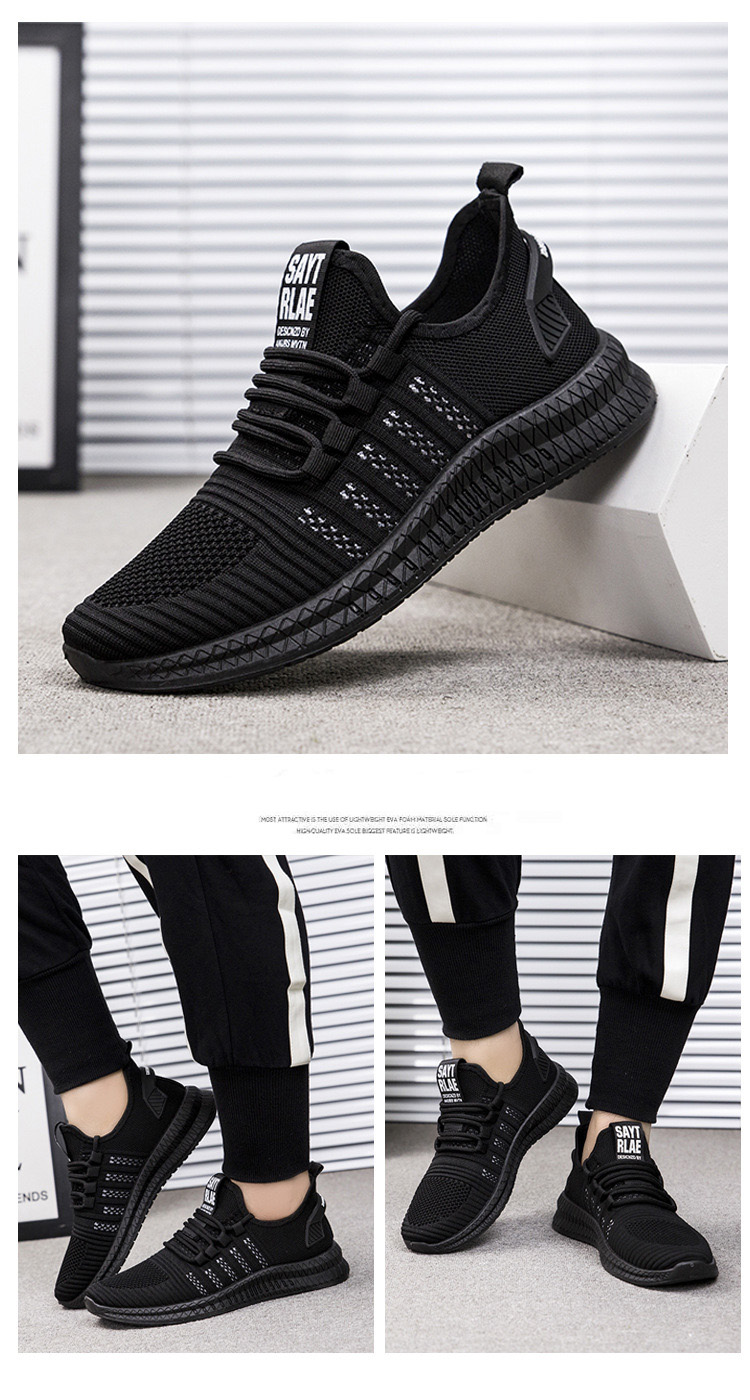 H636fc13386e04d4c812338bbbd59e039B - New Mesh Men Sneakers Casual Shoes Lac-up Men Shoes Lightweight Comfortable Breathable Walking Sneakers Zapatillas Hombre