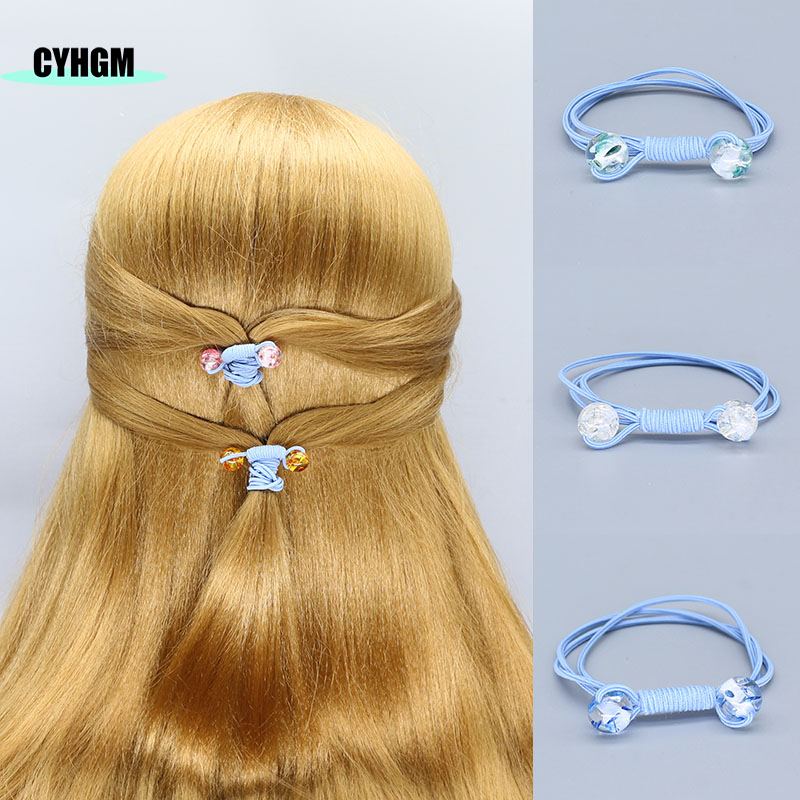 Elastic Hair Bands Scrunchie Opaska Femme Hair Ties Velvet Hair Rubber Band For Girls Diademas Women Hair Accessoires F16-1