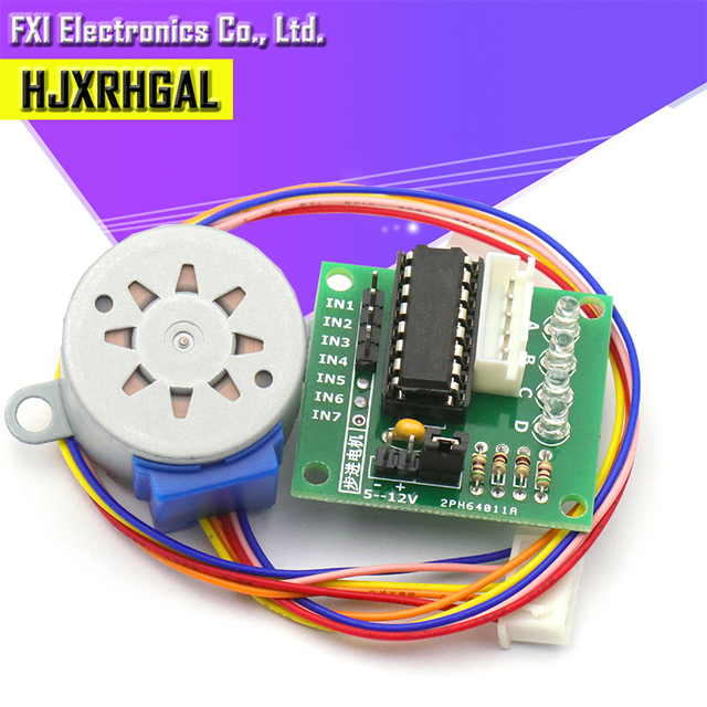 10PCS 5V 4 Phase Stepper Step Motor + Driver Board ULN2003 with drive Test Module Machinery Board for  new