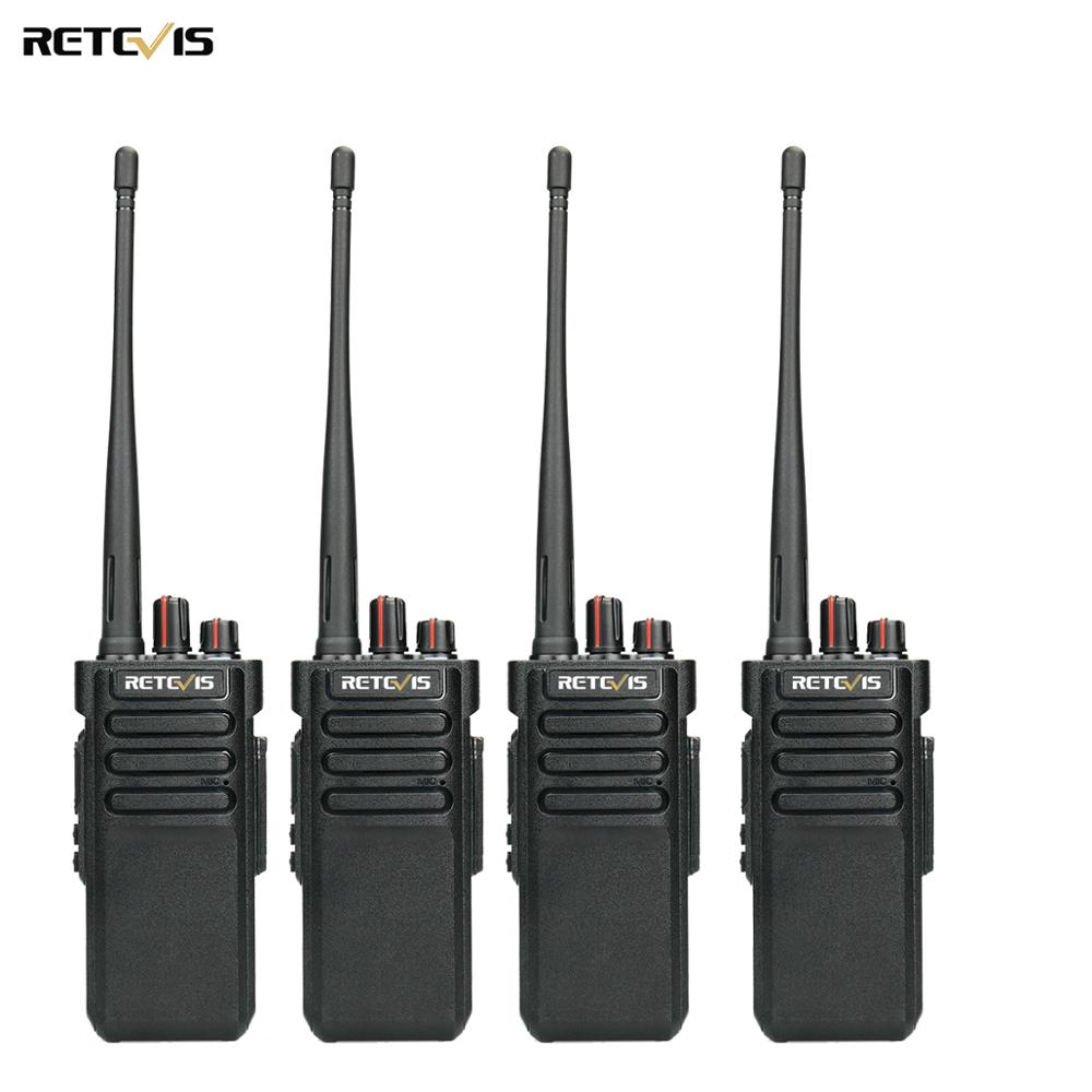 4pcs RETEVIS RT29 Walkie Talkie Powerful Handy UHF (or VHF) IP67 Waterproof (optional) Two Way Radio Comunicador+Earphone