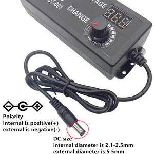 Image 5 - Power adapter Adjustable DC 3V 5V 6V 7V 8V 9V 10V 11V 12V 14V 15V 16V 17V 18V 19V 20V 21V 22V 23V 24V 2A Power Supply display