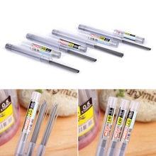 2 pièces 0.5mm/0.7mm automatique crayon plomb 2B HB plomb une recharge pour crayon mécanique automatique recharge de crayon