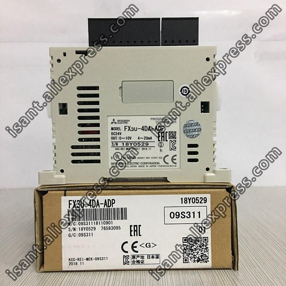 FX3U-4DA-ADP MELSEC-FX 4 channels Analog Output Special Adapter for FX series main units (Brand New & Original)