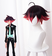 Anime PROMARE Cosplay Gueira Wig 33cm Short Heat Resistant Synthetic Hair Halloween Cosplay Wigs