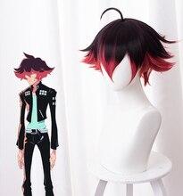 Парик Gueira для косплея аниме PROMARE, 33 см, короткие термостойкие синтетические волосы, парики для косплея на Хэллоуин