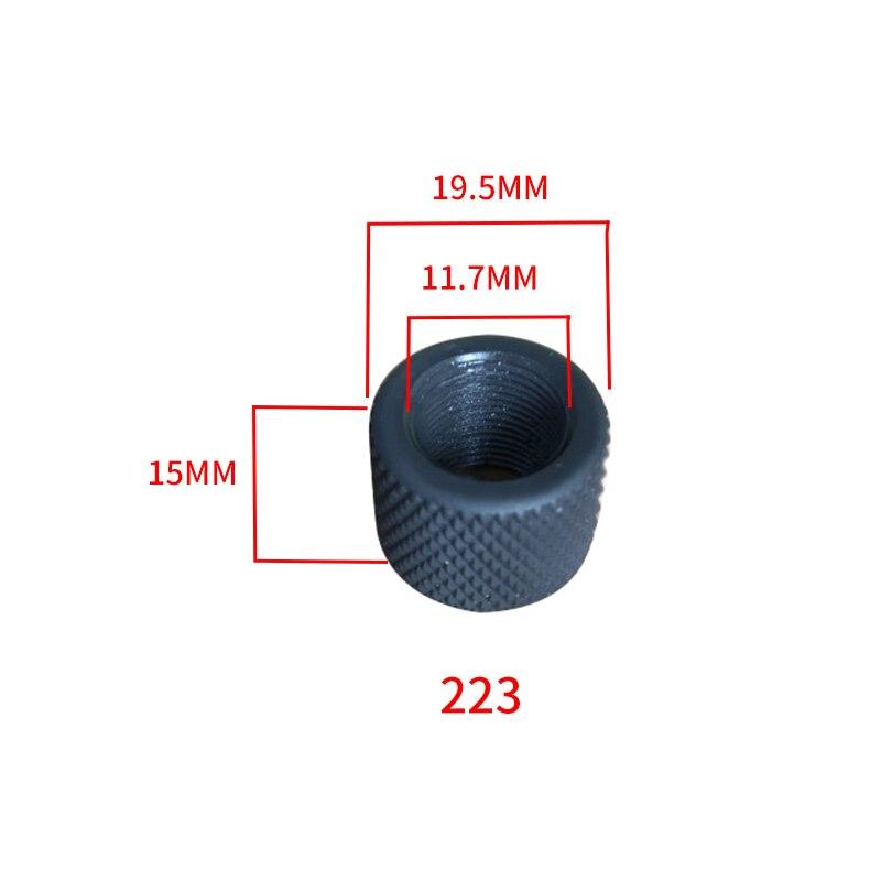 Предохранительное кольцо на открытом воздухе Принадлежности для охоты, оружие аксессуары 223/308 Сталь предохранительное кольцо 1/2-28 5/8-24 Дуль...
