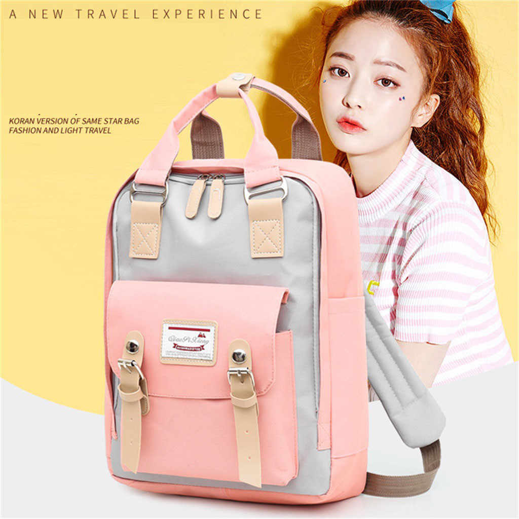 2019 New Anti-thief Fashion Women Backpack Multifunctional Waterproof Laptop Bag Unisex USB Charging Travel Bag рюкзак школьный