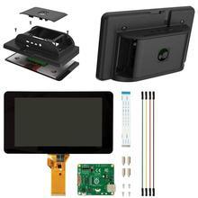 Официальный чехол для Raspberry Pi с 7-дюймовым сенсорным экраном и совместимым с Pi 4