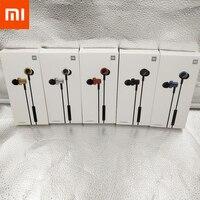 Xiaomi Double Dynamic auricolare In-ear 3.5mm Bass Headset con microfono auricolari Stereo per Mi 10 Lite Note 10 CC9 A3 Redmi Note 9s 8 T