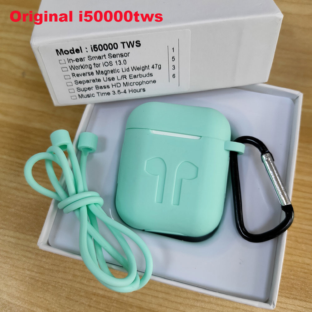 i50000 tws 1:1 Pop Up Wireless Charging Bluetooth Earbuds Earphone Origial pk W1 i500 i200 i1000 i2000 i9000 tws