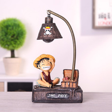 Resin Model Luffy Led Night Light Anime One Piece Night Light Toys For Kids One Piece Luffy Chopper Figure Toys Birhthday Gifts new 11cm one piece dowin anime figure figurezero luffy chopper zoro toycmodel with opp bag cheaper for sale