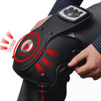 Knee-joint Therapeutic Equipment Knee Massager Infrared Vibra Magnetic Therapy Arthritis Elbow Shoulder Pain US UK EU AU Plug in